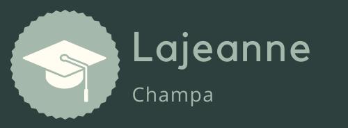Lajeanne champa